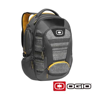 OGIO BANDIT II 17 吋甲蟲電腦後背包-競速灰