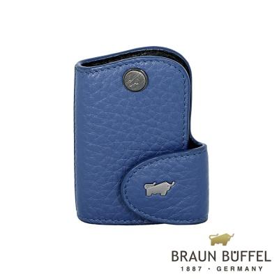 BRAUN-BUFFEL-OSLO奧斯陸系列鑰匙包-鳶尾藍