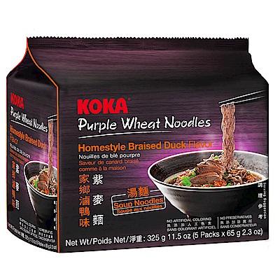 KOKA紫麥麵-家鄉滷鴨味(65gx5入)