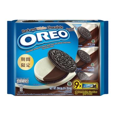 OREO奧利奧 黑白巧克力口味三明治隨手包 29.4gX9包