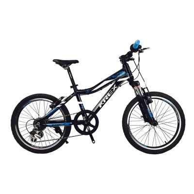 KREX ACTIVE V20-7速兒童車 黑/藍