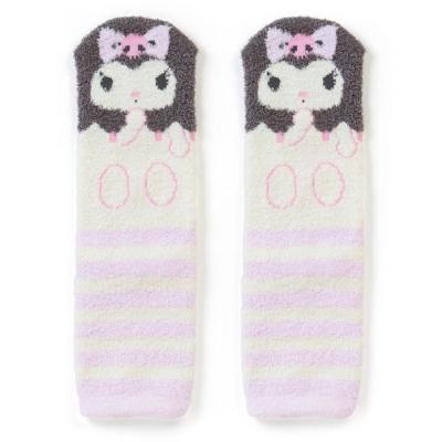 Sanrio 酷洛米盒裝Fluffy中筒保暖襪(條紋小惡魔)