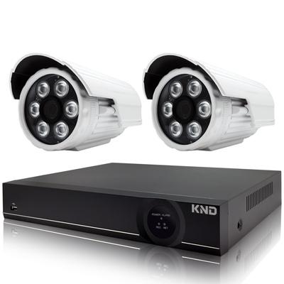奇巧 4路AHD正1080P台製雙硬碟款主機-含SONY 200萬攝影機x2