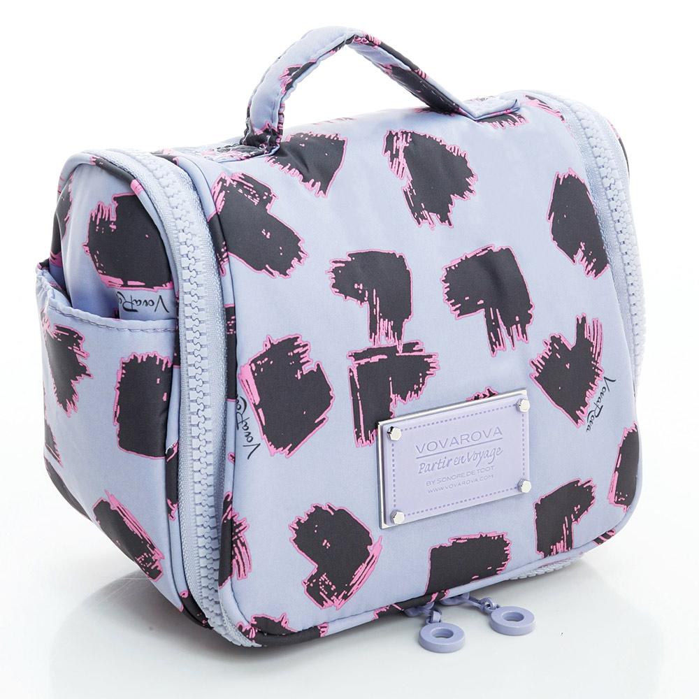 VOVAROVA空氣包-旅行盥洗包-彩繪甜心(紫)-法國設計系列