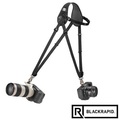 BLACKRAPID-雙槍俠HYBRID輕觸微風-人字快速背帶-361009