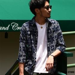 標準領短袖/七分袖巴拿馬襯衫 ZIP日本男裝