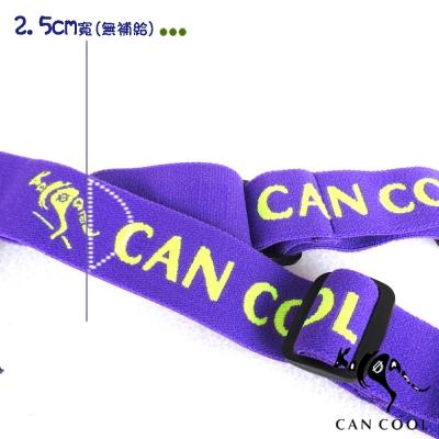 CAN COOL敢酷 25mm寬 運動號碼帶(無補給)(紫綠) C160313006