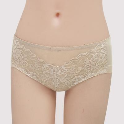 曼黛瑪璉-包覆提托Hibra大波  低腰寬邊三角萊克內褲(月光膚)
