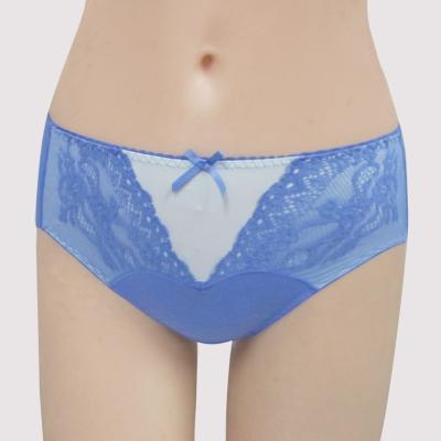 瑪登瑪朵-無敵美G  中腰三角棉內褲(享樂藍)