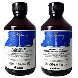 Davines 達芬尼斯  平衡控油洗髮露250ml (2入)