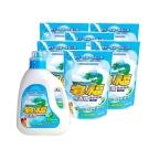 皂福無香精洗衣皂精7件組合 (3300gx1瓶+2000gx6包)