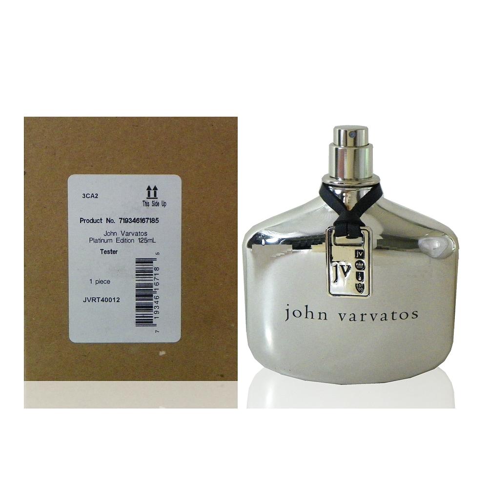John Varvatos Platinum 白金限量版淡香水 125 ml Tester