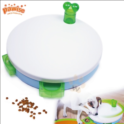 美國Pawise 小狗圓形智力玩具 1入