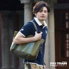BIG TRAIN 武侍家徽POLO衫-男-深藍