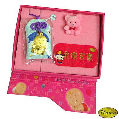 【家家金品】小天使黃金福袋滿月禮(1分)