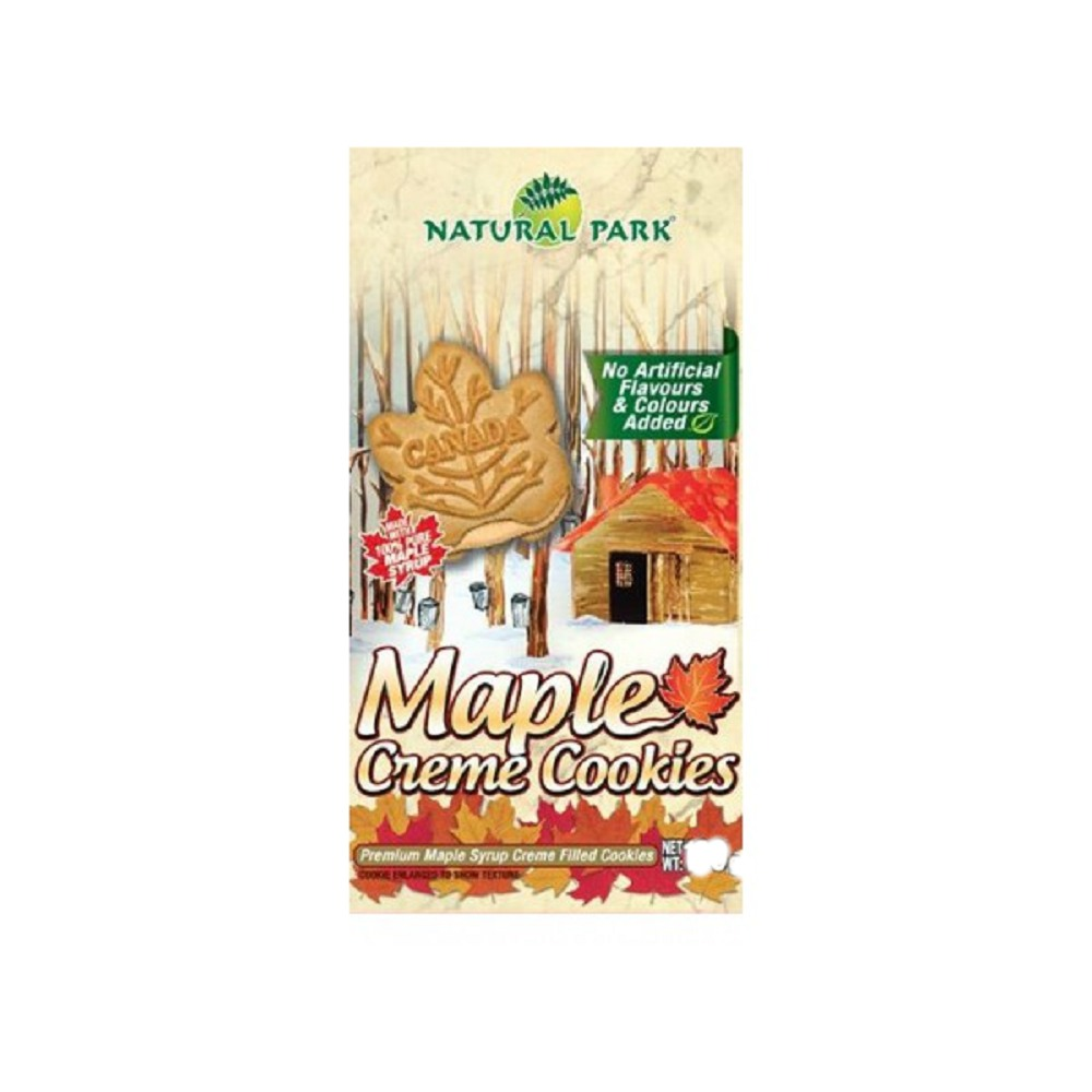 NATURAL PARK 加拿大楓糖夾心餅乾(95g)