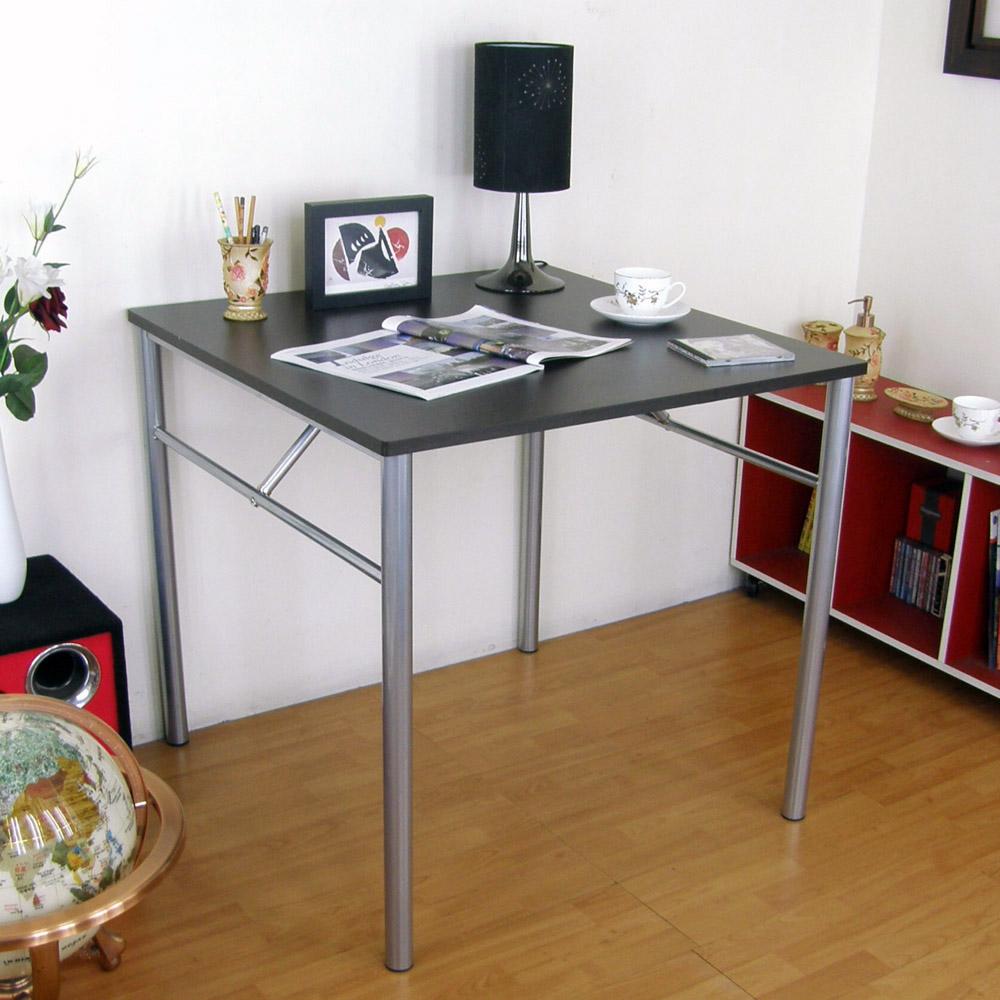 頂堅 四方工作桌/書桌 80 x 80 cm(二色可選)-DIY