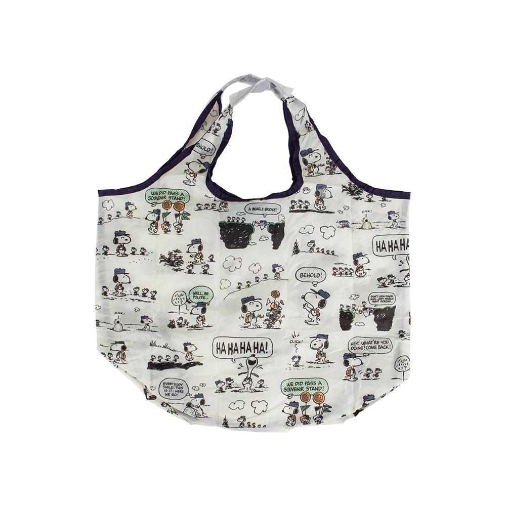 Sanrio SNOOPY趣味設計系列環保購物袋(登山露營)