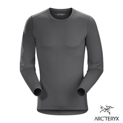 Arcteryx 始祖鳥 男 Phase AR 保暖內層圓領衫 灰