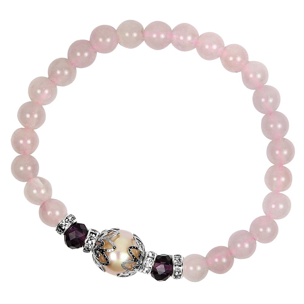 【A1寶石★十二星座】星座誕生石-晶鑽粉水晶珍珠-幸運石(含開光)