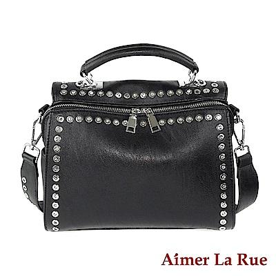 Aimer La Rue 手提側背包 弗拉迪系列(黑色)
