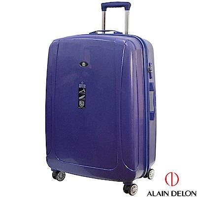 ALAIN DELON 亞蘭德倫 28吋旅者風情系列旅行箱(藍)