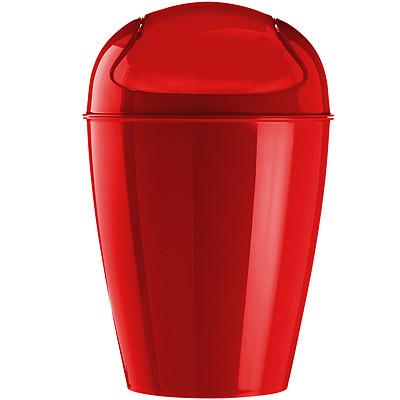KOZIOL 搖擺蓋垃圾桶(紅M)
