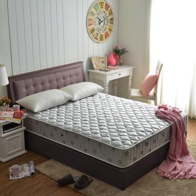 MG抗菌竹碳紗乳膠防潑水蜂巢獨立筒床組-雙人五尺