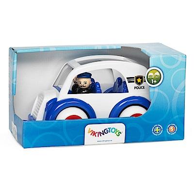 瑞典Viking Toys維京玩具-警車禮盒