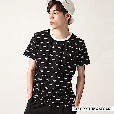 FILA印刷短袖TEE(3色) ZIP日本男裝