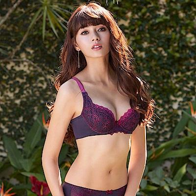 曼黛瑪璉 Hibra大波內衣  B-D罩杯(皇冠紫)