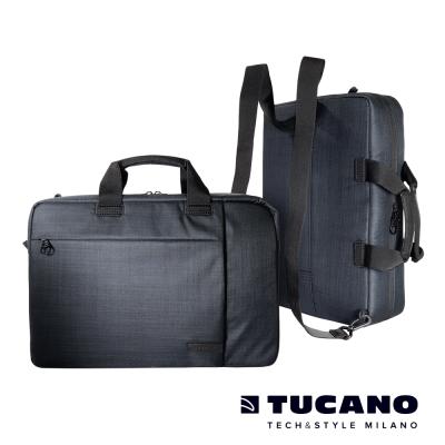 TUCANO  SVOLTA COMBO 後背三用包15.6吋-黑色
