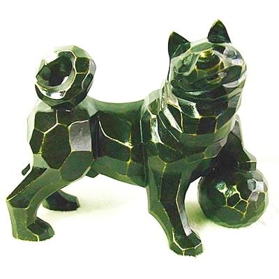 威望(旺) 狗銅雕