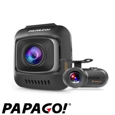 PAPAGO! GoSafe S780 星光級Sony Sensor雙鏡頭行車記錄