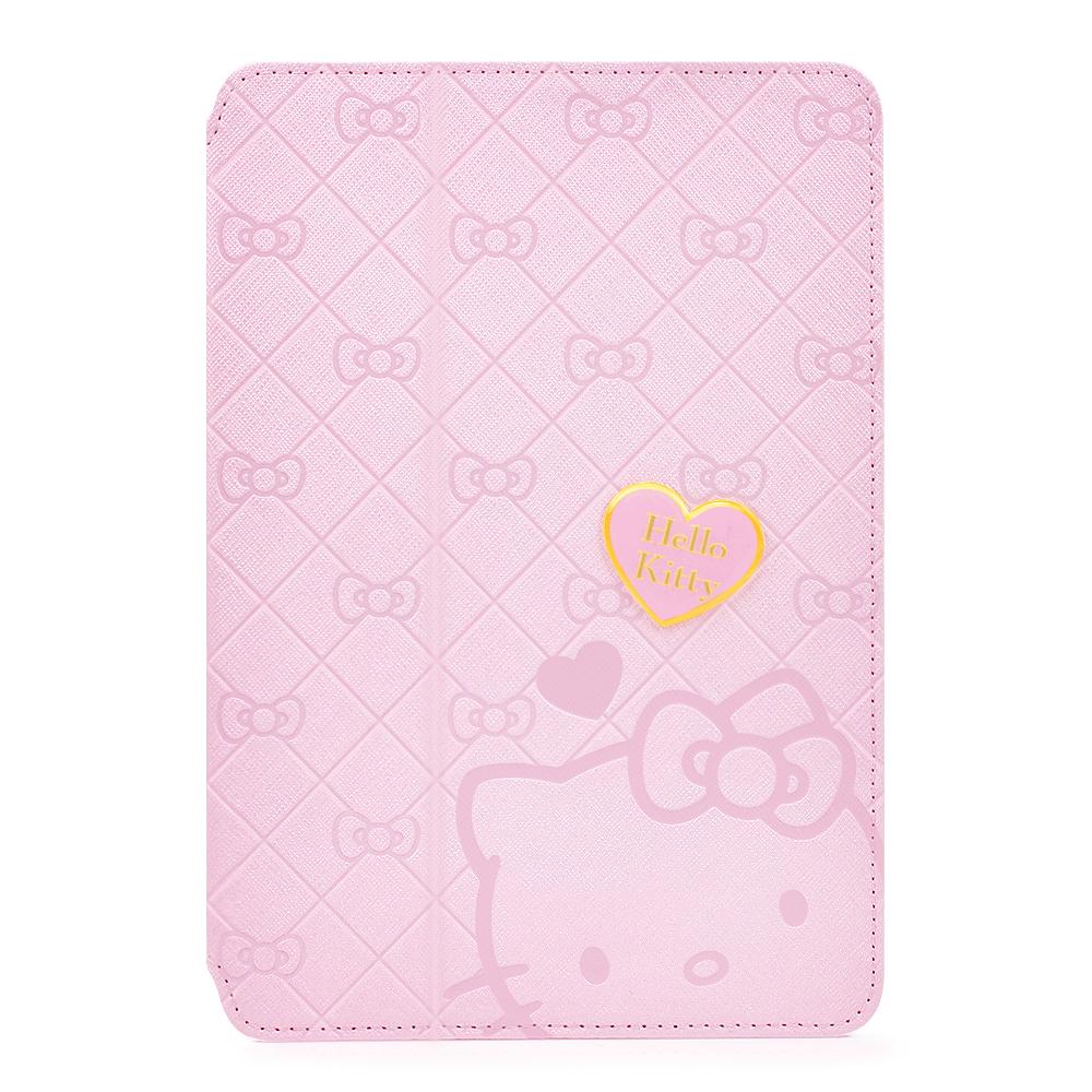 GARMMA Hello Kitty iPad Mini1代摺疊式皮套–典藏粉