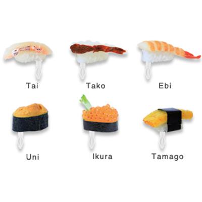 日本 DECOPPIN可愛造型防塵塞 - 壽司系列