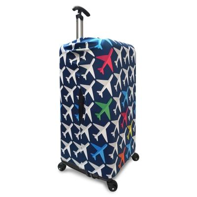 LOQI 行李箱外套 -飛機 (Sport、冰箱系列,適用30吋以上行李箱)