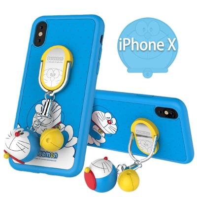 iStyle iPhone X 哆啦A夢藍色款手機殼