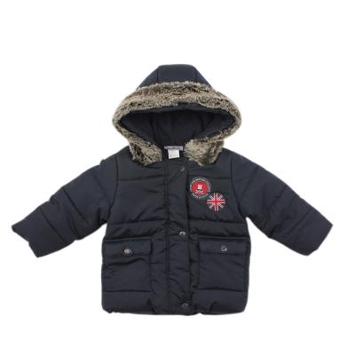 愛的世界 pappa&ciccia 防風舖棉搖粒絨長袖外套 2~4歲