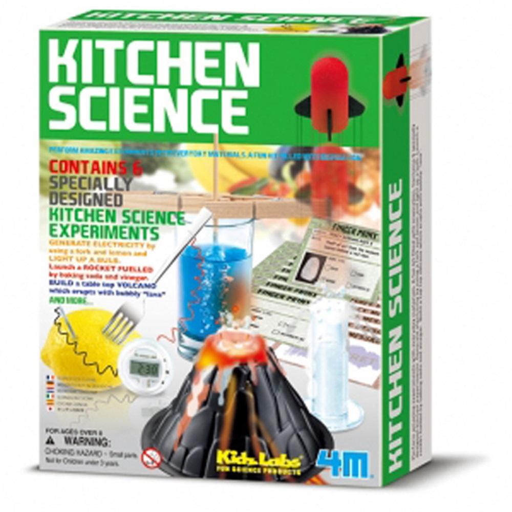 4M科學探索 趣味廚房科學