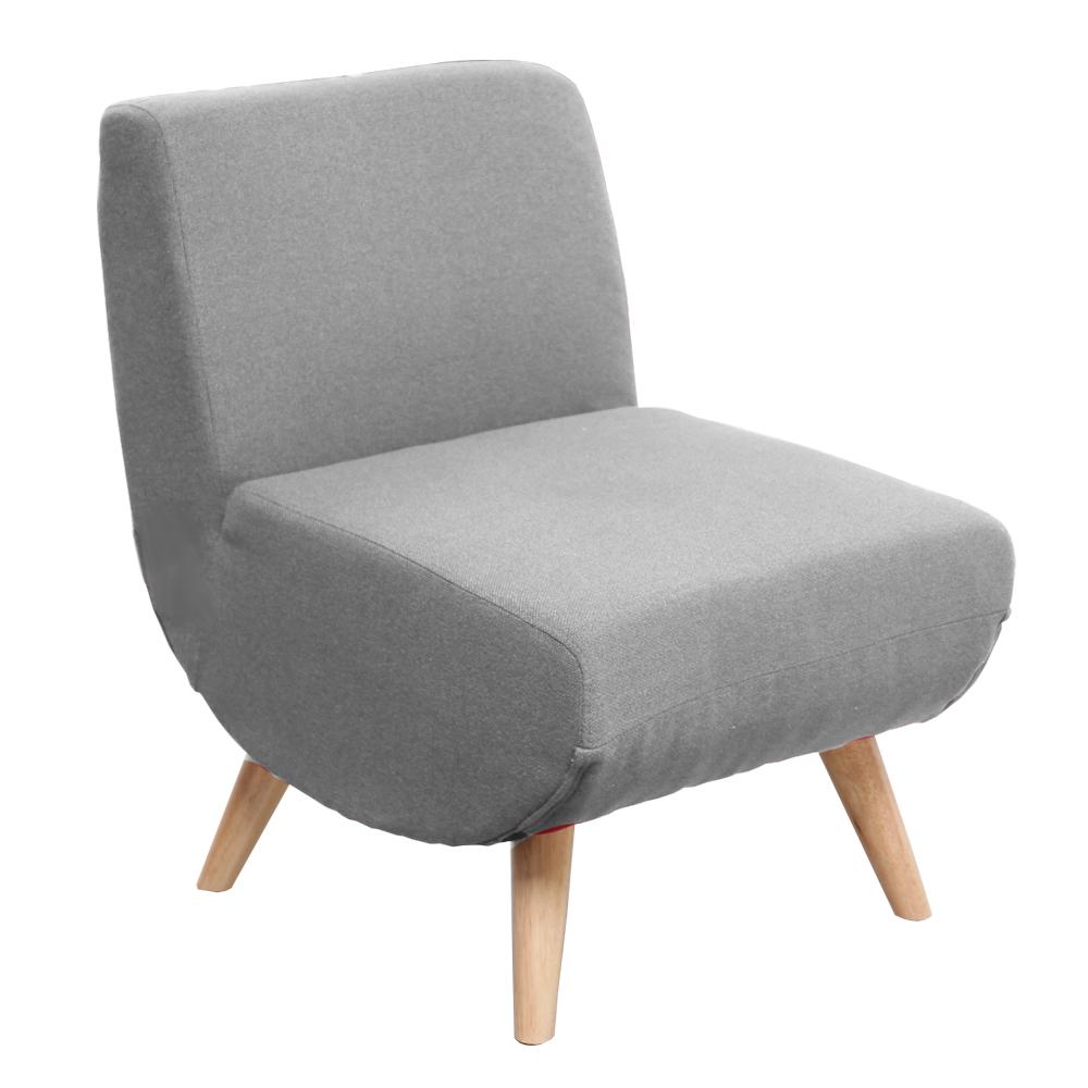 H&D 莫里森輕巧日式單人布質沙發-三色可選