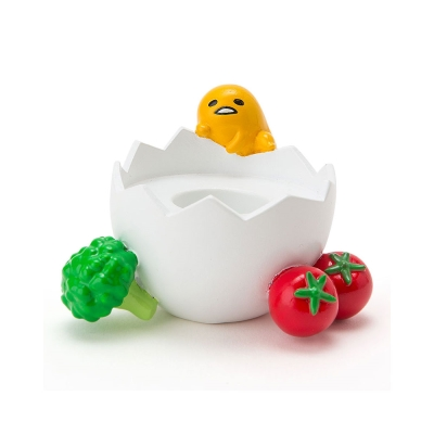 Sanrio-蛋黃哥樹脂造型印章座-營養蔬菜