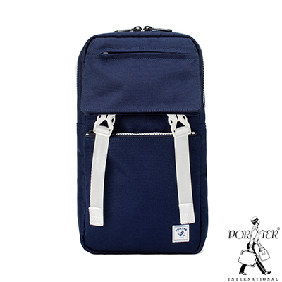 PORTER - 城市旅者UNION輕巧簡約單肩包 - 藍