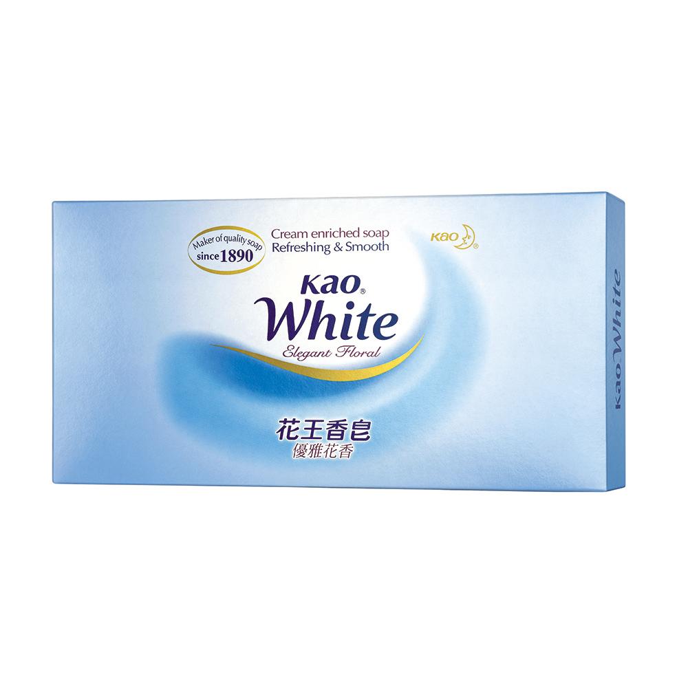 花王KAO 優雅花香皂禮盒(85gx12入)