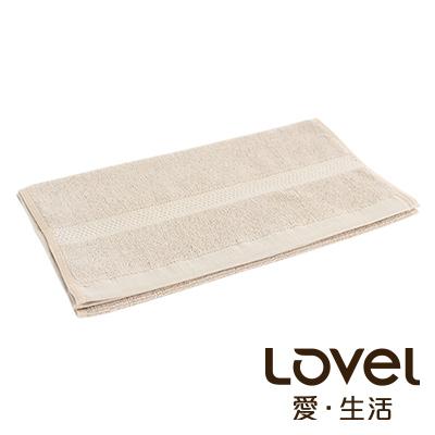 LOVEL 嚴選六星級飯店精選款-毛巾(椰褐)
