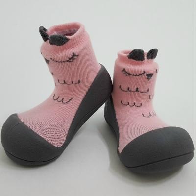 韓國Attipas 快樂學步鞋A17CP-粉色貓頭鷹