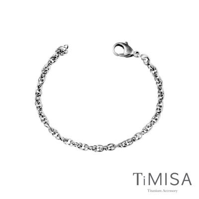 TiMISA《流星雨(H)》純鈦手鍊