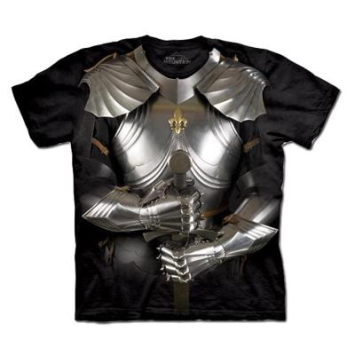 摩達客 美國進口The Mountain變身盔甲純棉短袖T恤