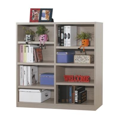 Bernice-貝斯4尺開放式書櫃-120x30x