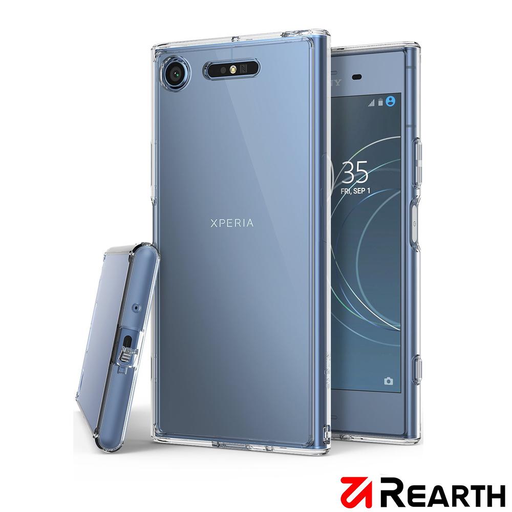 Rearth Sony Xperia XZ1 (Ringke Fusion)高質感保護殼
